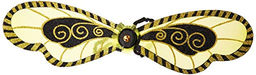 AMSCAN Bumblebee Wings Halloween Costume Accessories for Adults, One Size ()