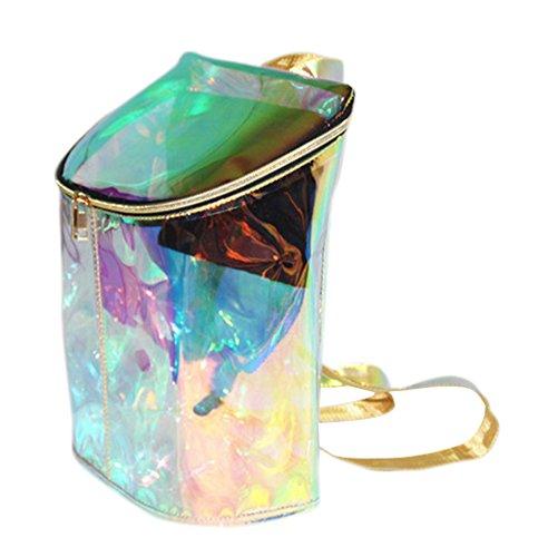 Drasawee - Bolso mochila  para mujer Azul azul talla única Multicolor