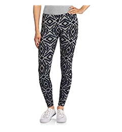 abf7c7def4cb2 No Boundaries Juniors Essential Ankle Leggings (Large, Grey Tribal) at  Amazon Women's Clothing store: