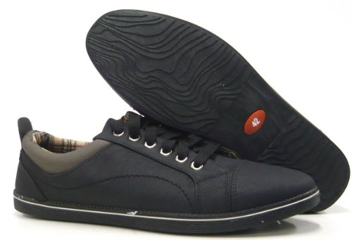 Schuhe Herren Schwarz Skater Freizeit Sneaker Sportliche Schuhe 8TxdqS5qw