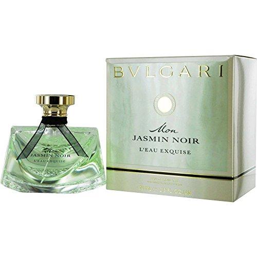 Bvlgari Mon Jasmin Noir L'eau Exquise Eau de Toilette Spray for Women, 2.5 Ounce