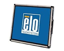 Elo E896339 Open-Frame Touchmonitors 1937L IntelliTouch 19\'\' LCD Monitor, Black/Silver