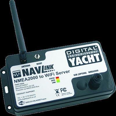 DIGITAL YACHT ZDIGWLN2NETPL NavLink NMEA 2000 To WiFi Server w/USB