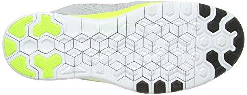 Nike Free 5.0 TR Fit 5 704674 Unisex-Erwachsene Hallenschuhe Grau (Wolf Grey/Black-Volt)