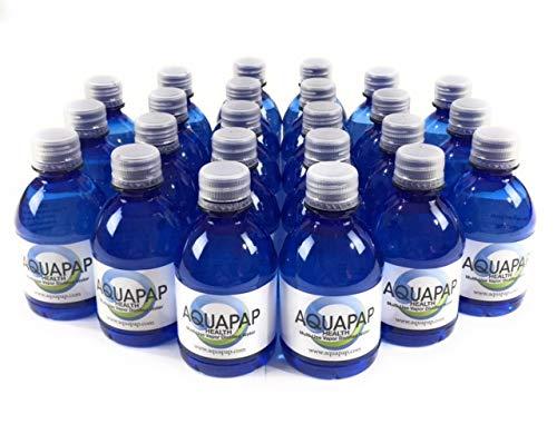AQUAPAP Health CPAP Water Vapor Distilled 24 Pack of 8oz Bottles