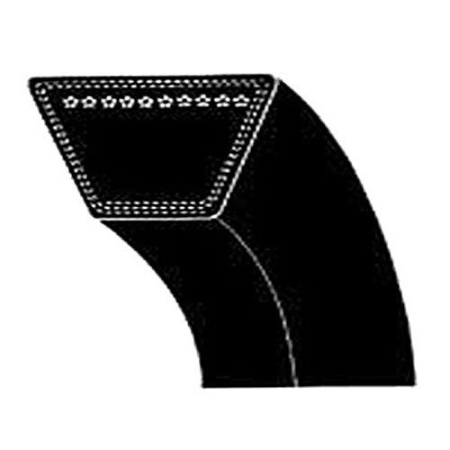 Snow Thrower Auger Belt (MTD 954-0101A Replacement Snow Thrower Auger Belt,0.5x35-Inch)