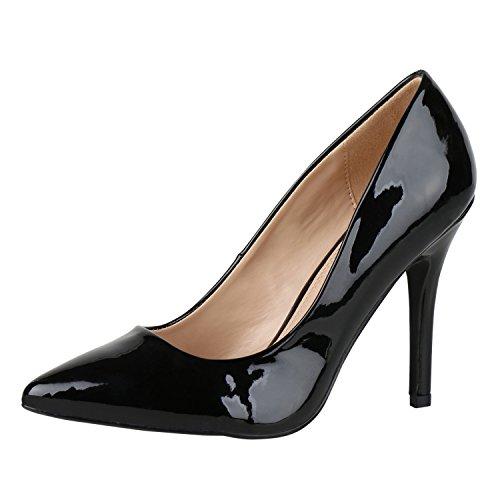 fashion Nero Cerrado Black Mujer Napoli Schwarz zYRnxx1