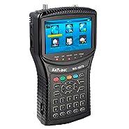 Tongbao WS-6979 DVB-S2 & DVB-T2 Combo Digital Satellite Finder WS6979 Spectrum Meter Analyzer with TFT LCD Screen