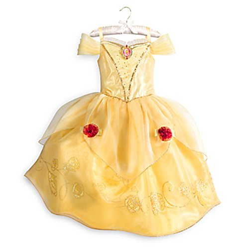Disney Store Princess Belle Costume Dress Gown Beauty Beast   Fall   2016  4