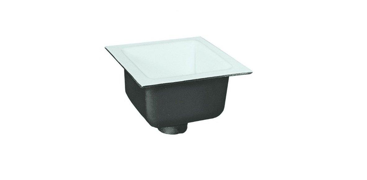 IPS 60405 No Hub 12'' x 12'' x 8'' Floor Sink