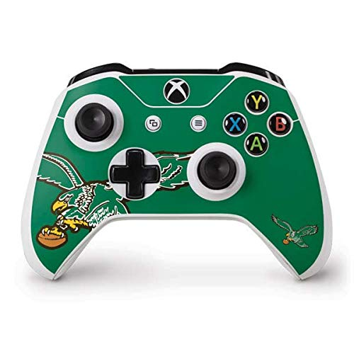 Skinit Philadelphia Eagles Retro Logo Xbox One S Controller Skin - Officially Licensed NFL Gaming Decal - Ultra Thin, Lightweight Vinyl Decal Protection
