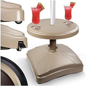 Amazon Com Shademobile Ru22 6050 Rolling Umbrella Stand