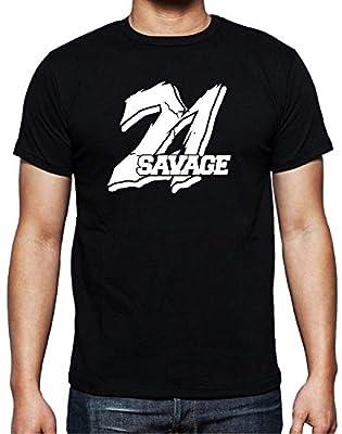 Katrina M Vaughn Cool 21 Savage Punk Men's Soft Cotton T-Shirt