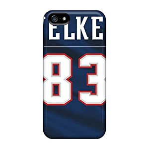 Protective Cell-phone Hard Cover For Iphone 5/5s (zac4025AVJK) Allow Personal Design HD New England Patriots Pattern