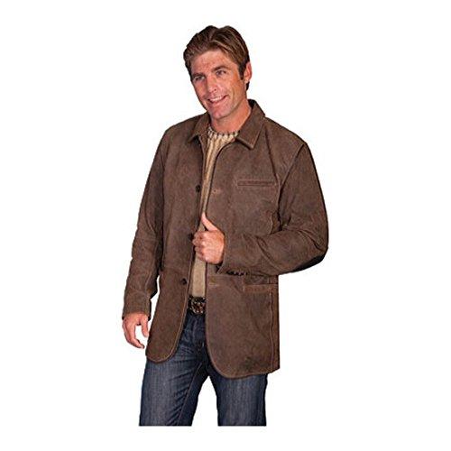 [スカーリー] メンズ ジャケット&ブルゾン Leather Blazer 236 [並行輸入品] B07DHNXB2F L