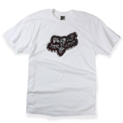 Fox Ransom Short Sleeved T-Shirt White (Fox White Sweatshirt)