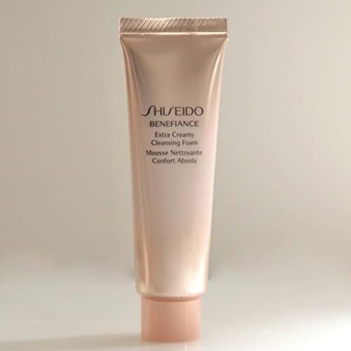 Shiseido Benefiance Extra Creamy Cleansing Foam 30ml/1OZ, Travel Size