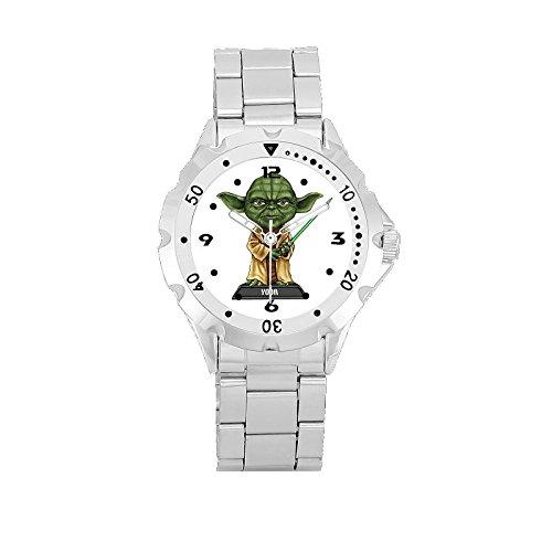 Master Yoda White Round Bezel Wrist Watch Limited (Yoda Watch)