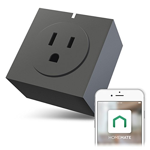Energy Meter (Zettaguard S31-Grey Wi-Fi Smart Plug Outlet, Compatible with Alexa, Timer Switch Socket, Energy Meter, Wireless Remote Control your Electronics from Smartphone or Tablet, Grey)