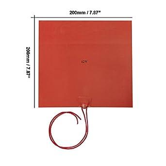 Amazon.com: Signswise - Calentador de 200 x 200 mm de 12 v ...