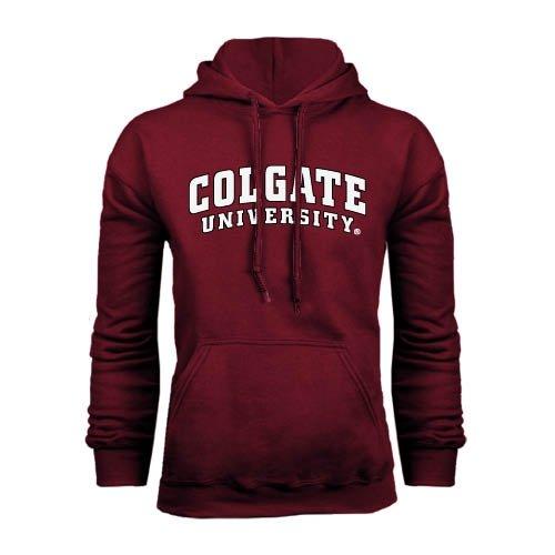 colgate-maroon-fleece-hood-colgate-university-x-large