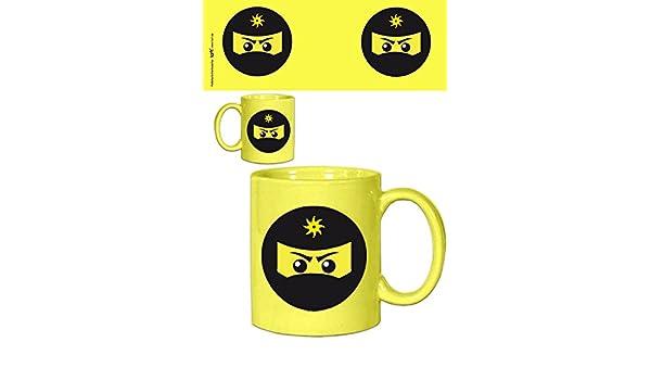 Amazon.com: 1art1 Set: Gaming, Ninja Icon, Yellow Photo ...