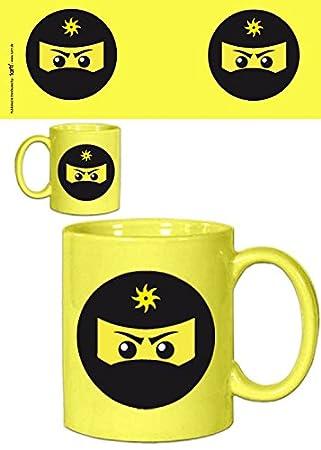 À Cm Tasse Mug9x8 Café NinjaJaune SetGamingIcône mvN8n0w