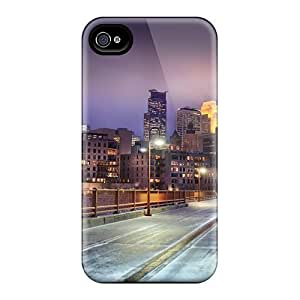 Defender Case With Nice Appearance (minnesota City) Case For Iphone 4/4S Cover