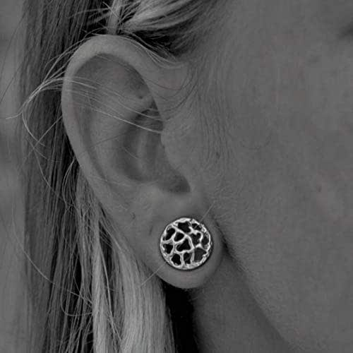 Christmas gift,stocking filter plugs earrings boho jewelry gauge Dangle plugs boho earrings boho plugs silver sun