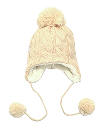 tangb-kids-knitted-pom-pom-winter-hat-beige