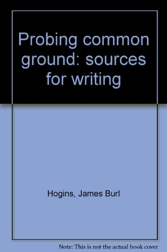 Probing common ground: sources for writing