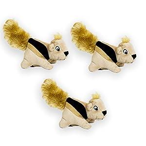 Outward Hound Squeakin' Animals Dog Squeak Toys(Pack of 3)