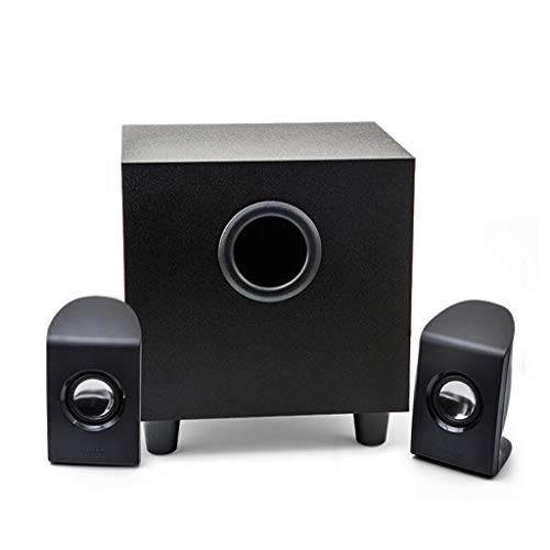 RENJUN Computer Audio Home Theater Channel Multimedia Speaker Black Bluetooth Audio, 168 × 180 × 141mm Speaker