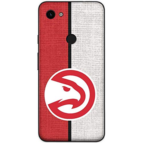 Skinit Atlanta Hawks Google Pixel 3a Skin - Officially Licensed NBA Phone Decal - Ultra Thin, Lightweight Vinyl Decal Protection