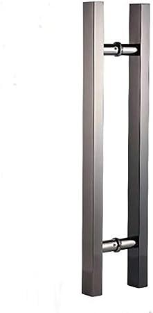 EVERAIE Ereve - Tirador de Barra de Acero Inoxidable con Marco para Puerta corredera de Hotel, de Madera, Metal, Color-1, 150 cm: Amazon.es: Hogar