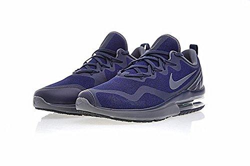 Nike NIKE AIR MAX Fury–Sneaker, Herren, Blau–�?Obsidian/Dark grey-deep Royal Blue)