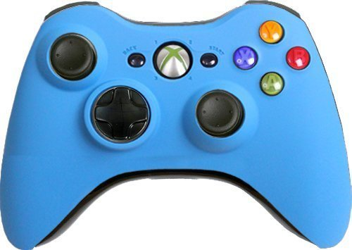 Custom Xbox 360 Controller Matte Blue Special Edition (Call Of Duty 2 For Xbox 360 Cheats)