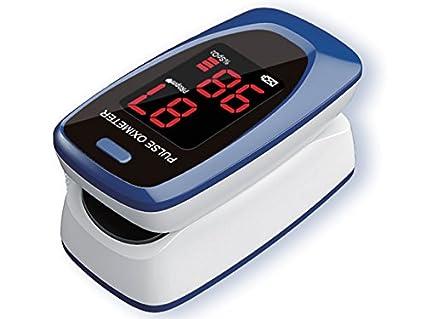 Oxímetro de dedos, para SpO2 y medición de la tasa de pulso, oxígeno de pulso: Amazon.es: Industria, empresas y ciencia