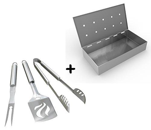 Smoker Box BBQ Grill Tools