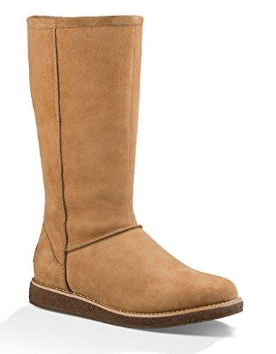 UGG Women's Rue Chestnut Boot 6 B (M) (Ugg Boots Back Zipper)