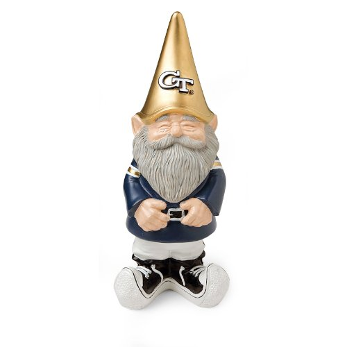 Georgia Tech Yellow Jackets Tsa Garden Gnome