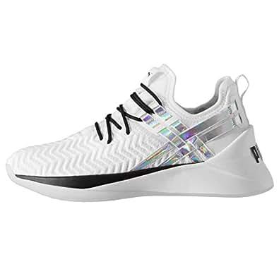 Official Brand Puma Jaab XT Iridescent Trailblazer Womens Running Shoes White/Black Trainers (UK5) (EU38) (US7.5)