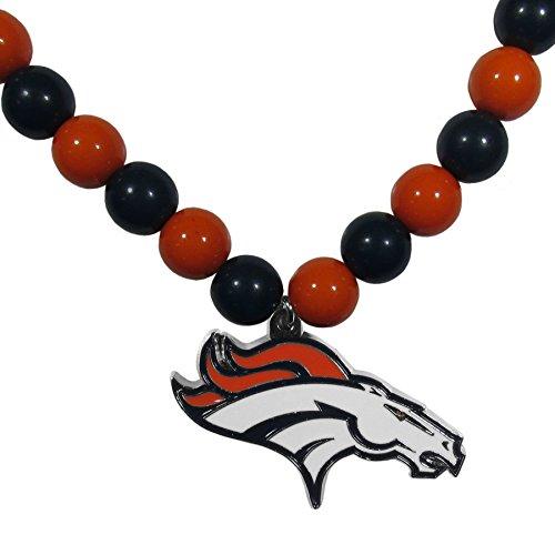 Siskiyou NFL Denver Broncos Fan Bead Necklace
