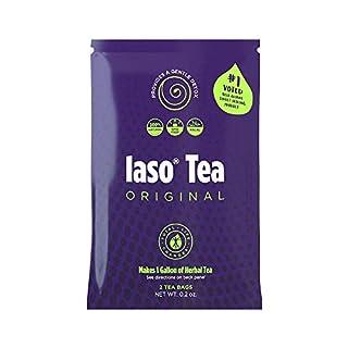 TLC Total Life Changes IASO Natural Herbal Detox Tea Bags - Single Pack (2 Tea Bags)