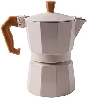 Cafetera Induccion Cafetera Italiana Express De Espresso Molinillo De Café Cafetera Cerámica Blanca Retro del Hogar GAOFENG (Color : Blanco, Tamaño : 850ml): Amazon.es: Hogar