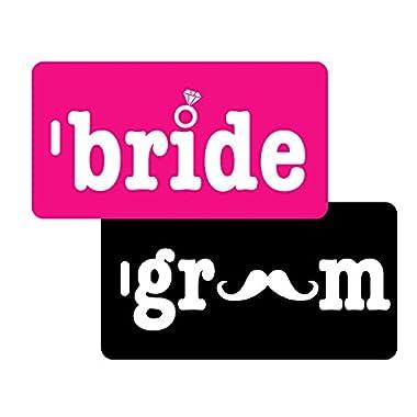 Inventive Travelware Bride & Groom 2pc Luggage Tag Set