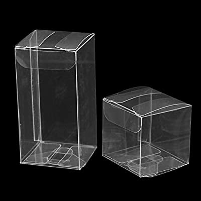 XIAOLIU Caja De Regalo De Fiesta 10 Unids/Lote Cajas Transparentes ...