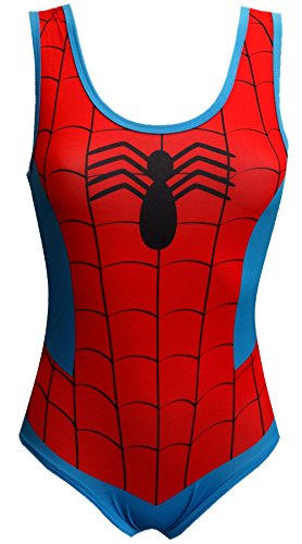 spider-man+tank+tops Products : Marvel Comics Amazing Spiderman Bodysuit for women