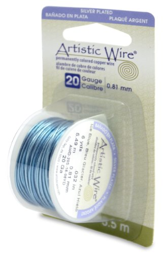 Artistic 20 Gauge Silver Plated 6 Yards
