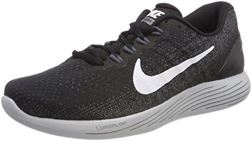 9 Lunarglide Nike Donna White Wmns Running Grey Multicolore Scarpe Grey dark Black wolf 001 afww4Aq